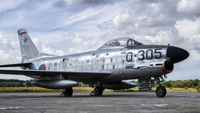 Q-305 - Netherlands - Air Force North American F-86K Sabre