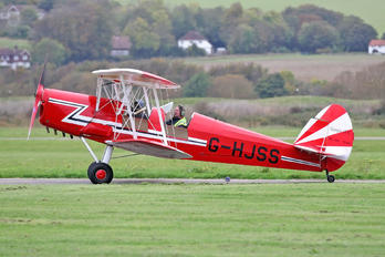 G-HJSS - Private SNCAN Stampe SV.4C