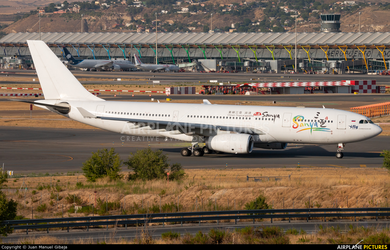 I-Fly Airlines EI-FSE aircraft at Madrid - Barajas