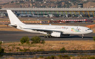 I-Fly Airbus A330 visited Madrid title=