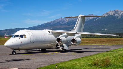 G-JOTD - Jota Aviation British Aerospace BAe 146-300/Avro RJ100