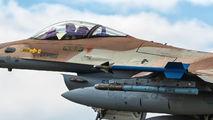 536 - Israel - Defence Force Lockheed Martin F-16C Fighting Falcon aircraft