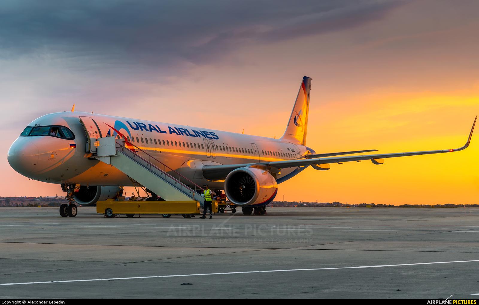 Ural Airlines VP-BOQ aircraft at Anapa Airport