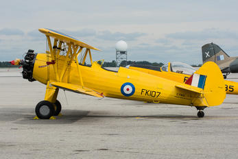 C-FAIU - Canadian Warplane Heritage Boeing Stearman, Kaydet (all models)