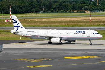 SX-DVZ - Aegean Airlines Airbus A321