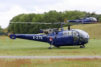 A-275 - Netherlands - Air Force Sud Aviation SA-316 Alouette III