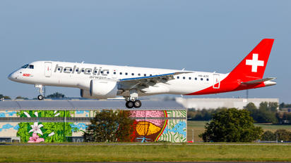 HB-AZE - Helvetic Airways Embraer ERJ-190-E2
