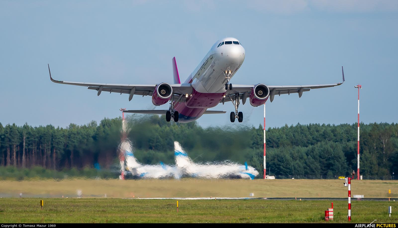 Wizz Air HA-LTI aircraft at Katowice - Pyrzowice