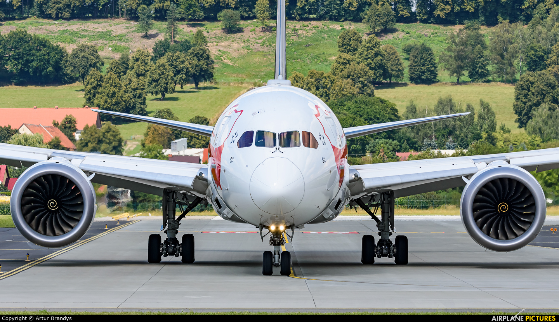 LOT - Polish Airlines SP-LSC aircraft at Kraków - John Paul II Intl