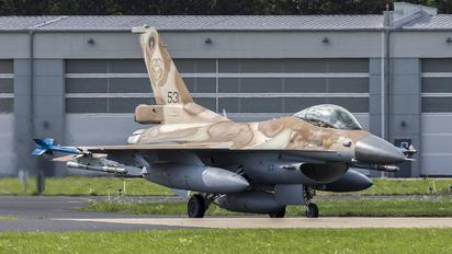 531 - Israel - Defence Force General Dynamics F-16C Barak