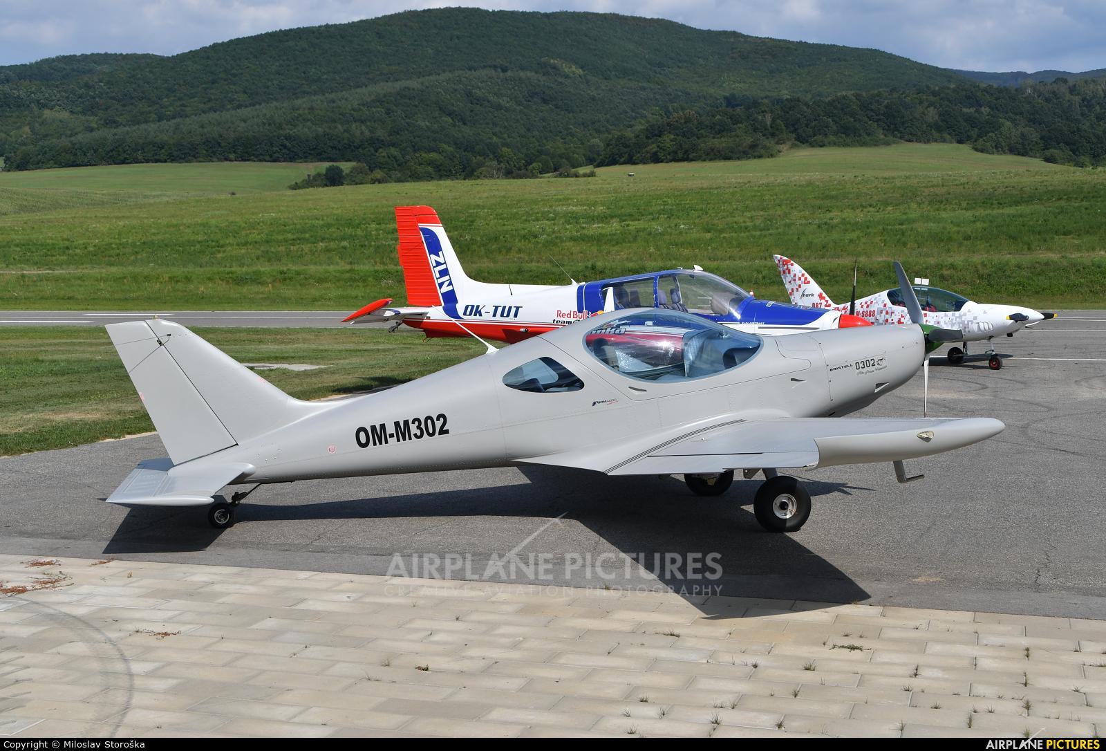 Letecky Sportovy Klub Zvolen OM-M302 aircraft at Dobra Niva