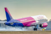 HA-LPL - Wizz Air Airbus A320 aircraft