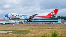 LX-VCF - Cargolux Boeing 747-8F aircraft
