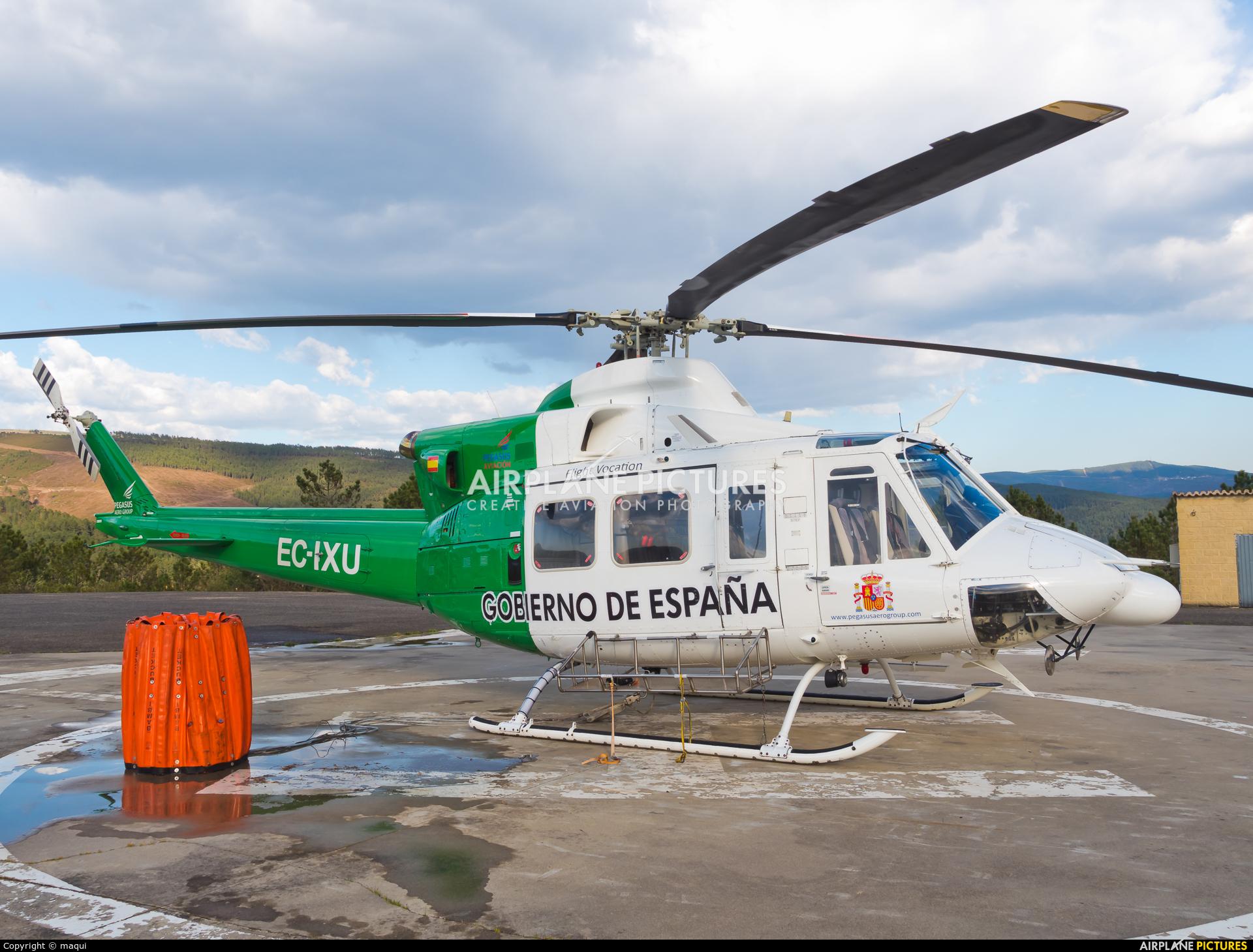 Pegasus Aviación EC-IXU aircraft at Ourense - Base de Laza