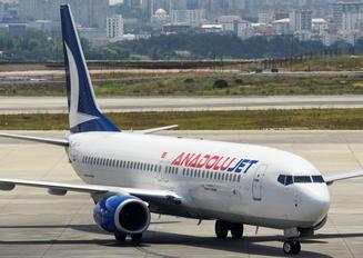 TC-JKU - AnadoluJet Boeing 737-800