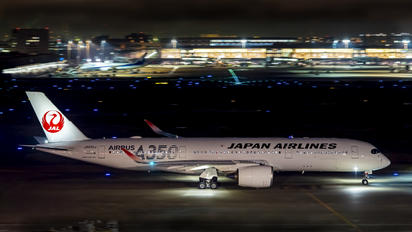 JA02XJ - JAL - Japan Airlines Airbus A350-900