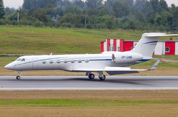 VP-CMB - Private Gulfstream Aerospace G-V, G-V-SP, G500, G550