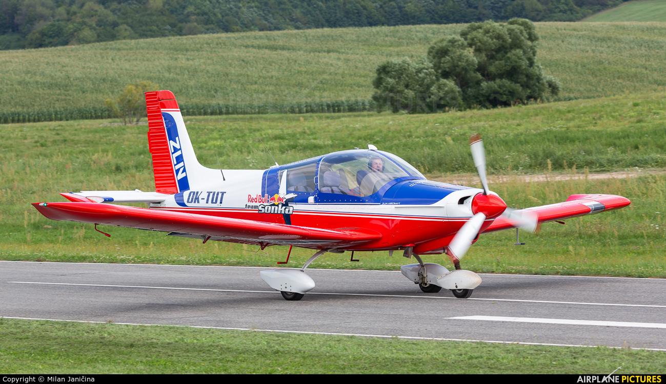 Private OK-TUT aircraft at Dobra Niva
