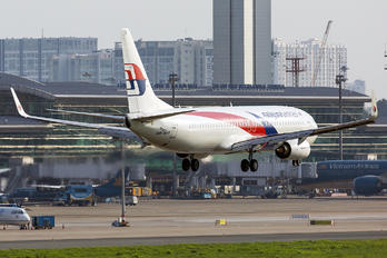 9M-MXF - Malaysia Airlines Boeing 737-800