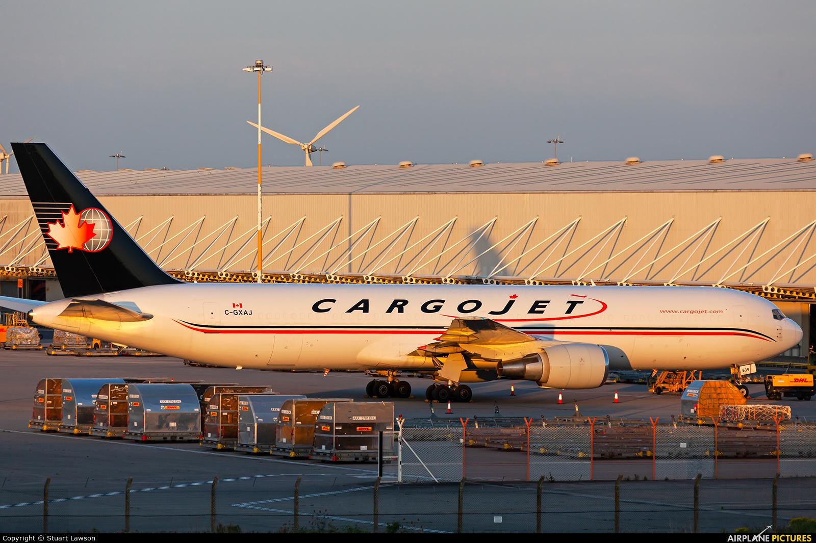 Cargojet Airways C-GXAJ aircraft at East Midlands