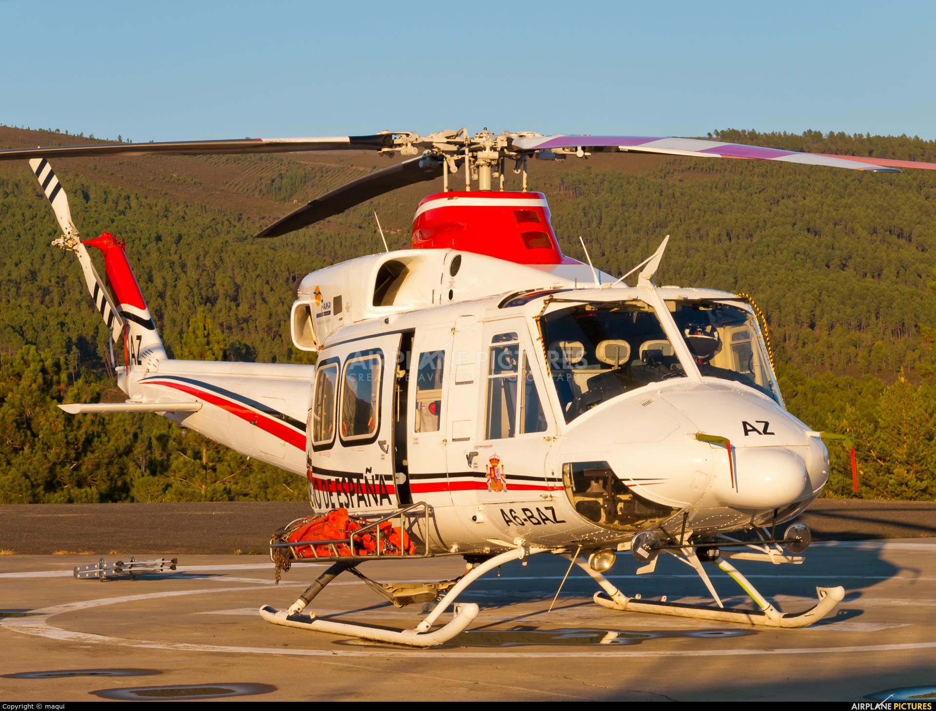 FAASA Aviación A6-BAZ aircraft at Ourense - Base de Laza