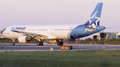 C-GEZD - Air Transat Airbus A321