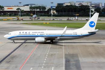 B-5383 - Xiamen Airlines Boeing 737-800