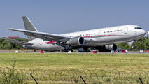 OAI B763 suffered a collapse of left main gear at Bucharest title=