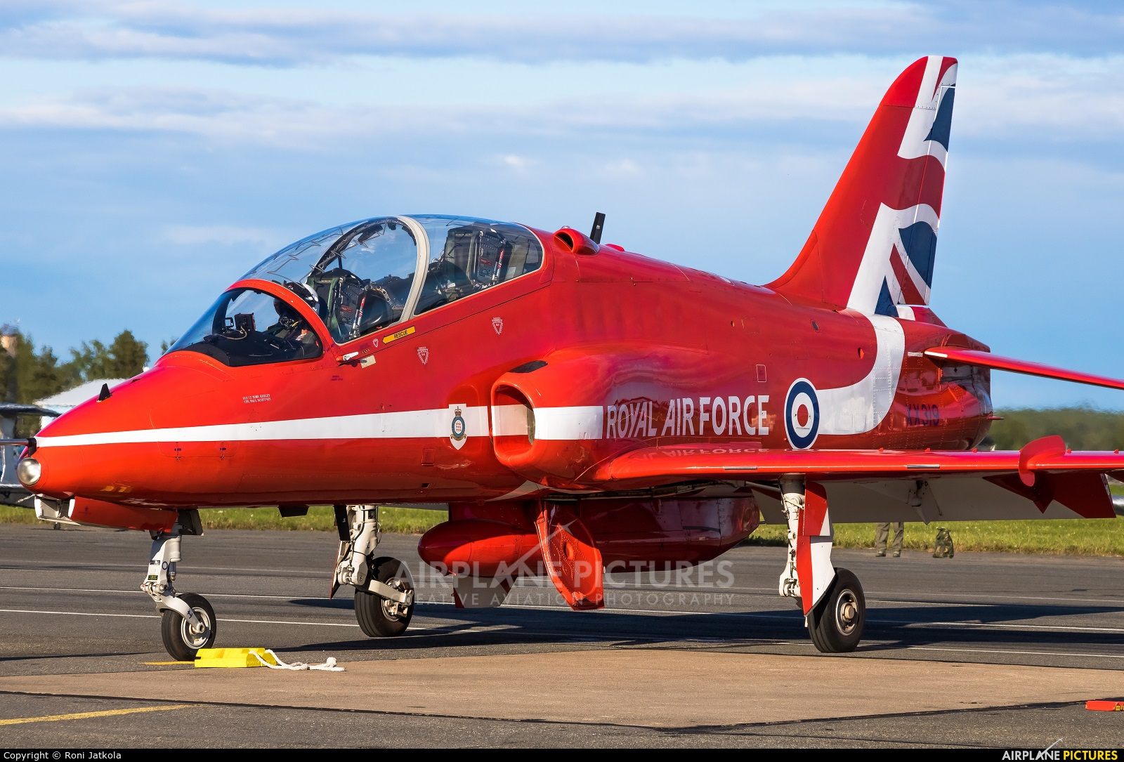 Royal Air Force XX314 aircraft at Kauhava