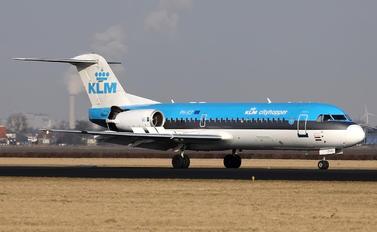 PH-JCT - KLM Cityhopper Fokker 70