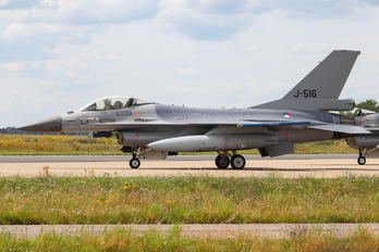 J-516 - Netherlands - Air Force General Dynamics F-16A Fighting Falcon