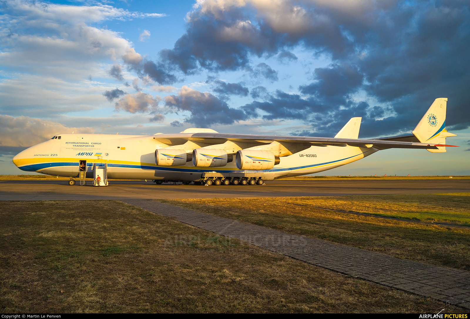 Antonov Airlines /  Design Bureau UR-82060 aircraft at Chateauroux - Deols (Marcel Dassault)