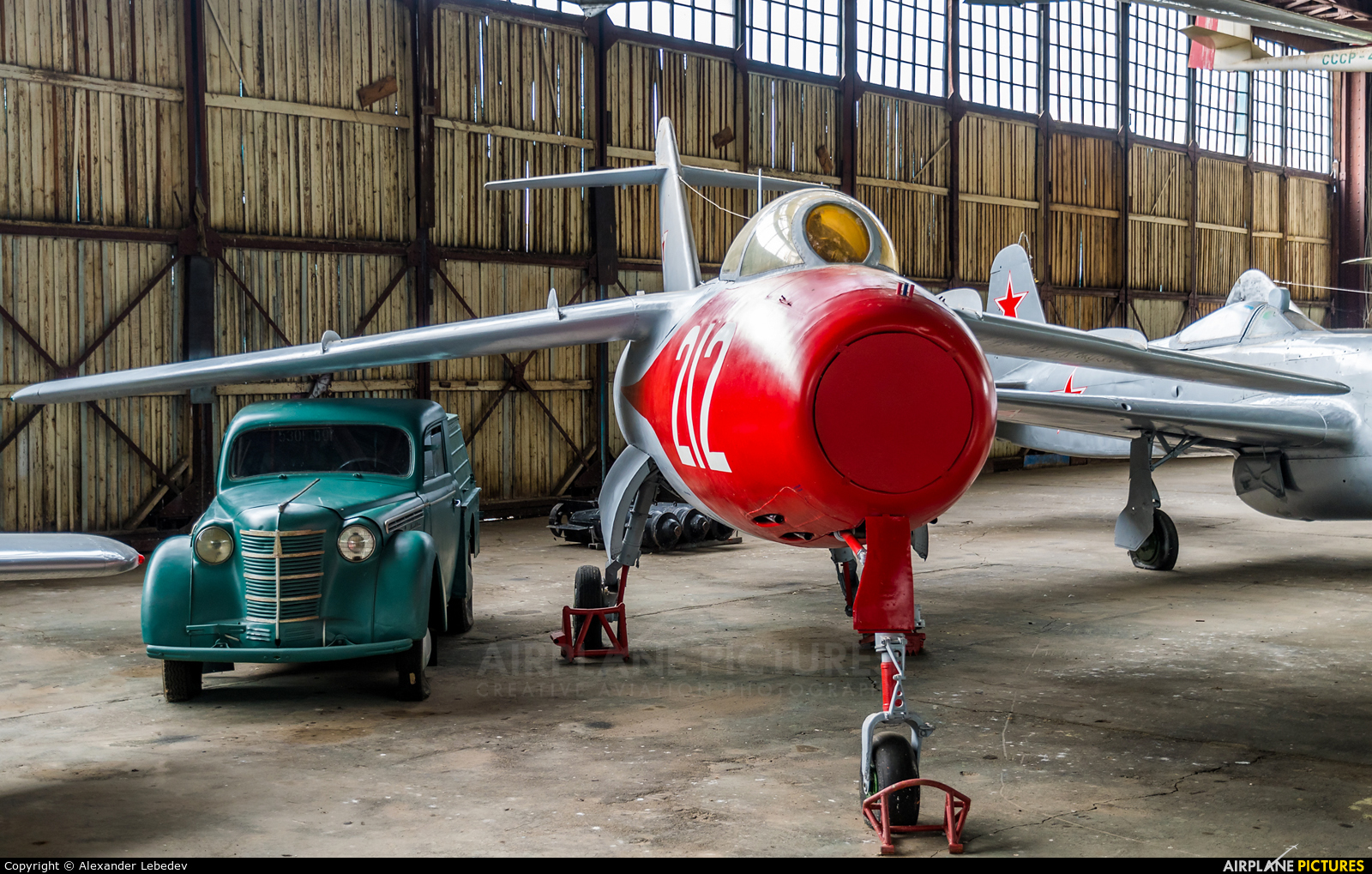 Soviet Union - Air Force 212 aircraft at Monino Russian Air Force museum