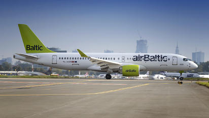 YL-AAR - Air Baltic Airbus A220-300