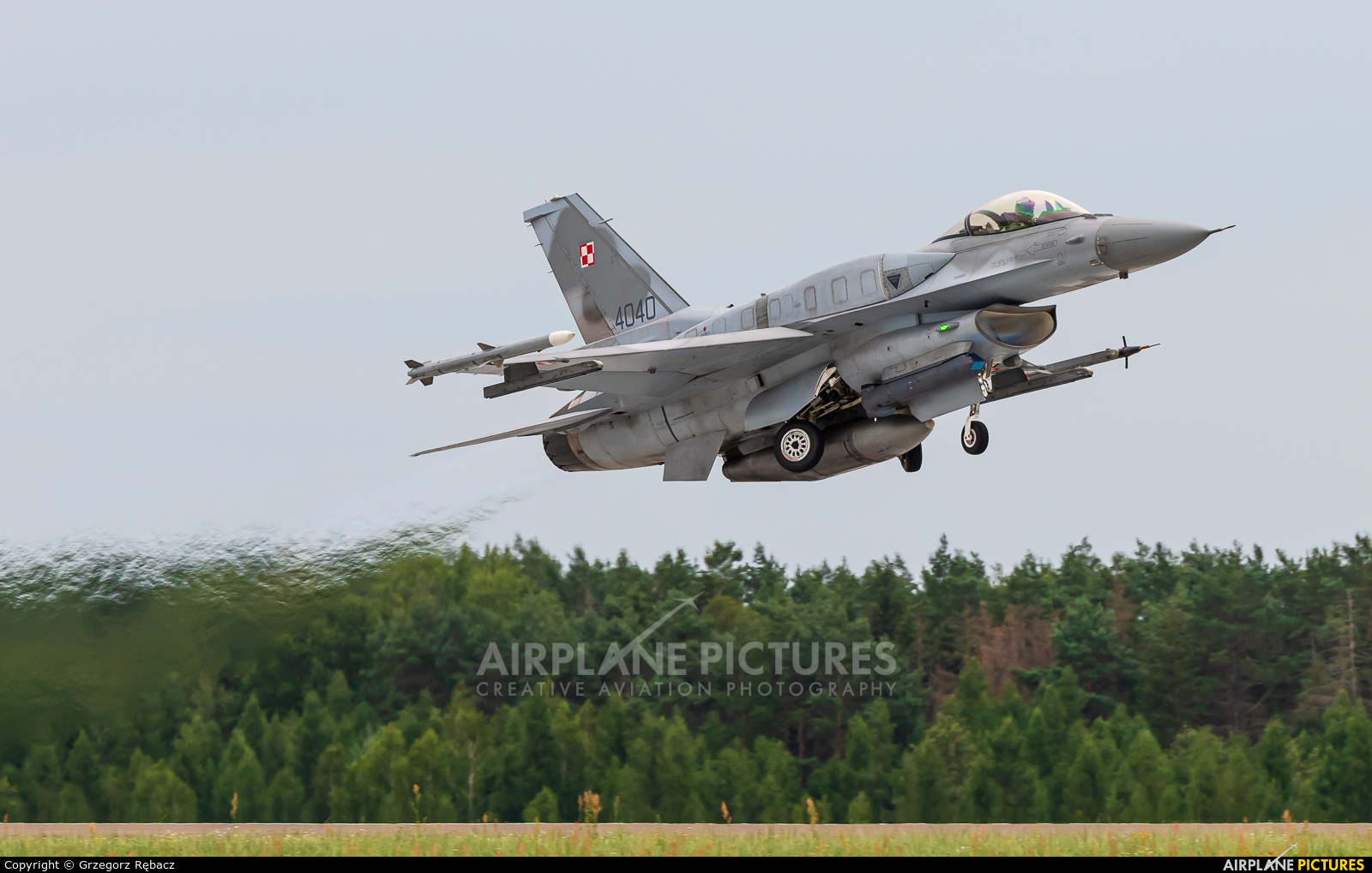 Poland - Air Force 4040 aircraft at Łask AB