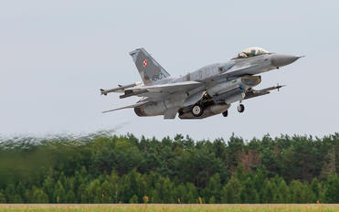 4040 - Poland - Air Force Lockheed Martin F-16C block 52+ Jastrząb