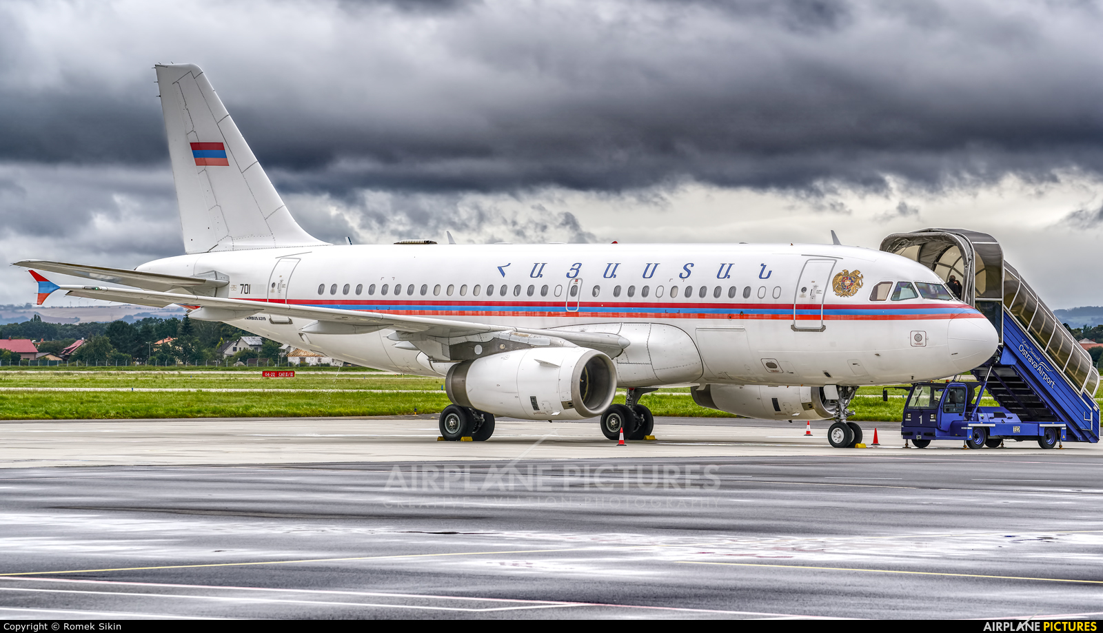 Armenia - Air Force 701 aircraft at Ostrava Mošnov