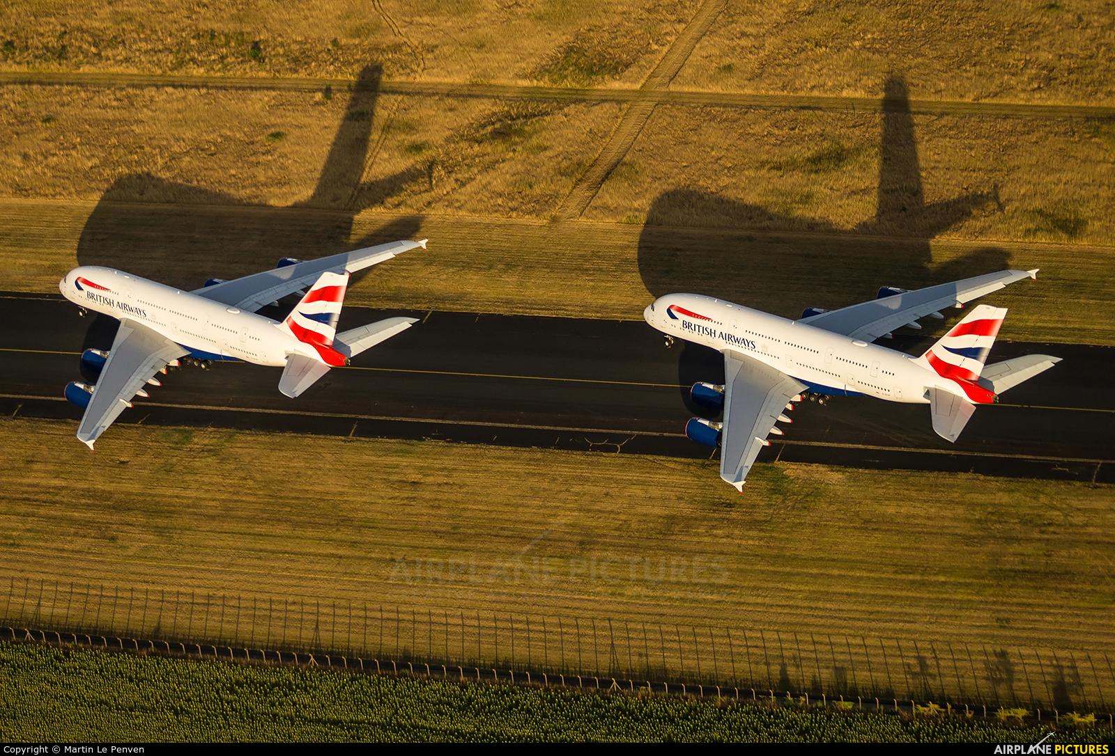 British Airways G-XLEF aircraft at Chateauroux - Deols (Marcel Dassault)