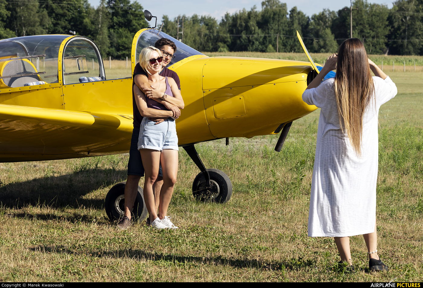 - Aviation Glamour D-EJHO aircraft at Off Airport - Poland