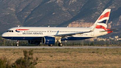G-TTNK - British Airways Airbus A320 NEO