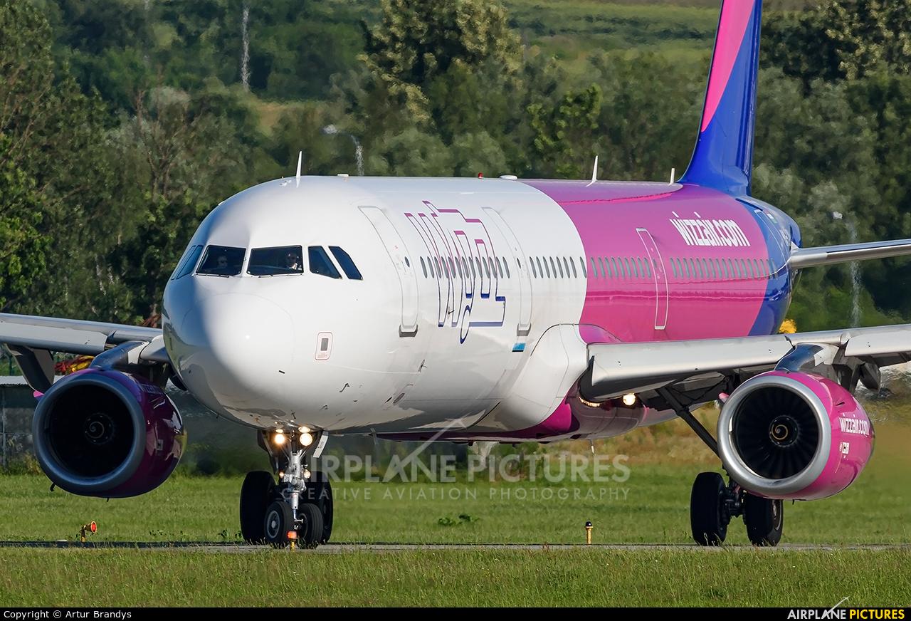 Wizz Air HA-LXU aircraft at Kraków - John Paul II Intl