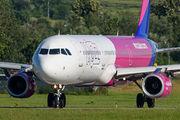 HA-LXU - Wizz Air Airbus A321 aircraft