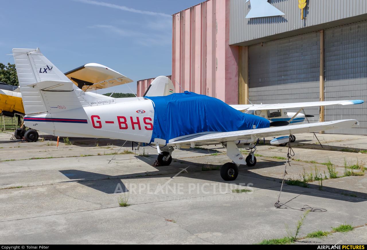 Private G-BHSE aircraft at Kaposújlak