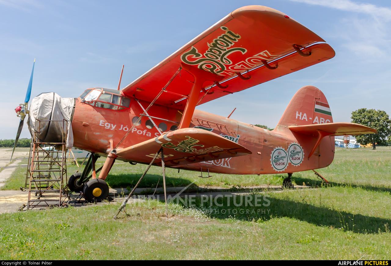 Untitled HA-ABC aircraft at Kaposújlak