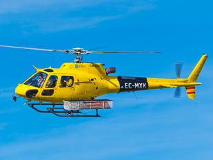 EC-MXK - Babcock M.C.S. Spain Aerospatiale AS350 Ecureuil / Squirrel