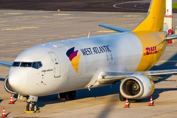 G-JMCR - West Atlantic Boeing 737-400F