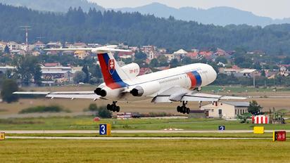 OM-BYO - Slovenia - Government Tupolev Tu-154M