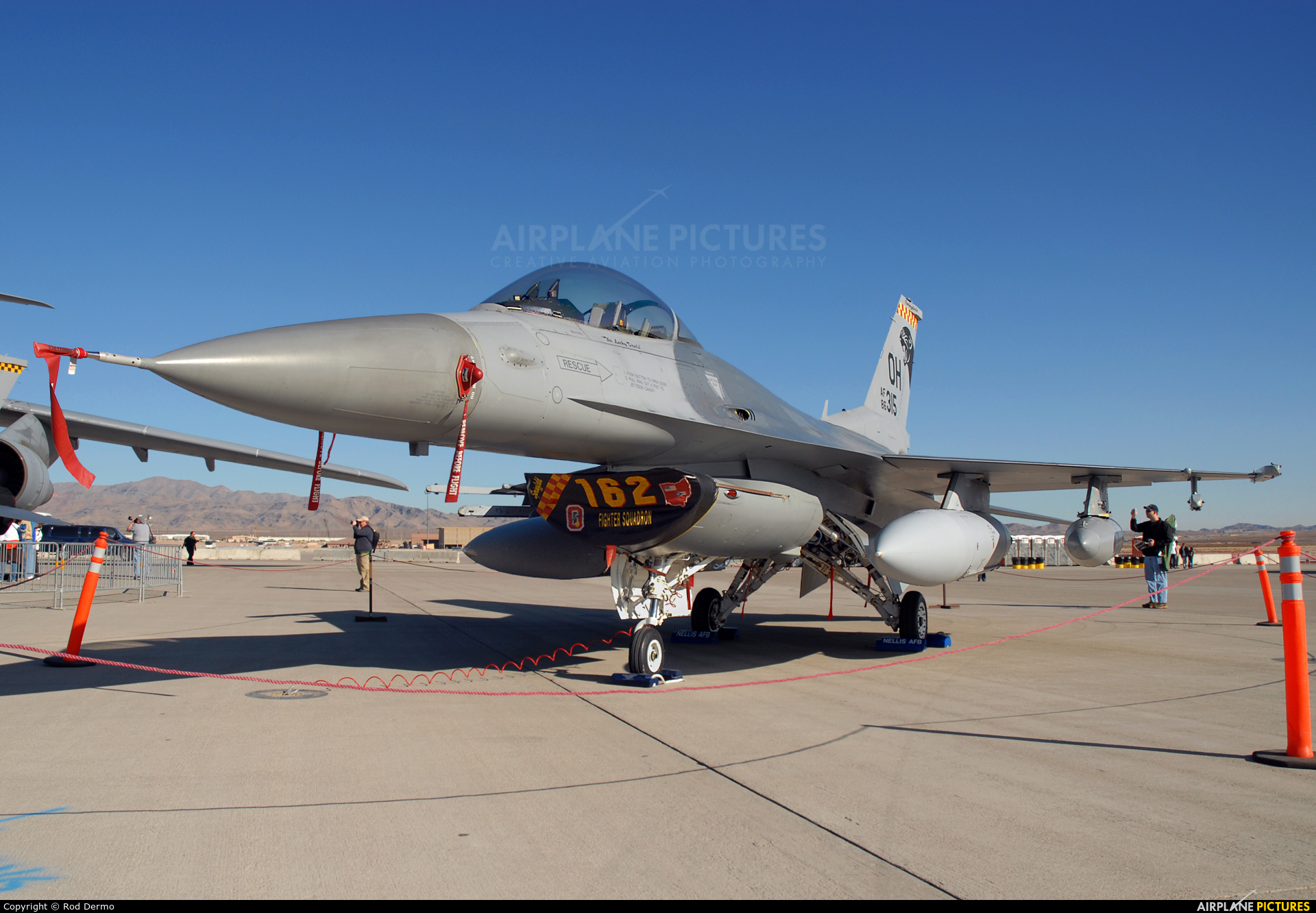 USA - Air Force 86-0315 aircraft at Nellis AFB