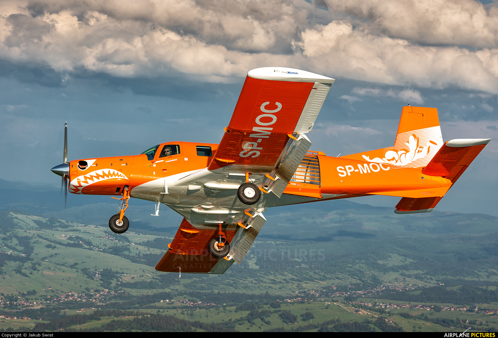Private SP-MOC aircraft at In Flight - Poland