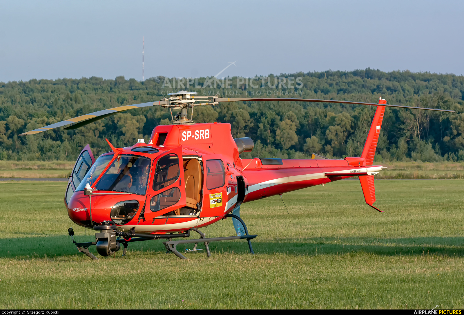 Helipoland SP-SRB aircraft at Katowice Muchowiec